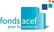 Logo du Fonds ACEF pour la Solidarité